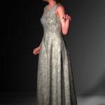Kleid Josefin. Mode digital auf der Aachener Kunstroute 2016.