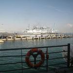15.10. Ausfahrt vom Hafen Algecira