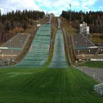 Selektionsrennen Lillehammer / Besuch bei der Sprungschanze...