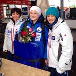 Weltcup #3, Altenberg / Medal Ceremony 6.Rang :-))