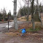 Kreuzung an der Schutzhütte
