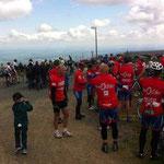 Menschenmassen auf dem Brocken - darunter neuerdings viele Rennradfahrer