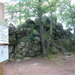Am Ziel: Der Elfensteinfels