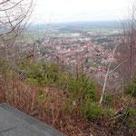 Blick auf Ilsenburg