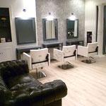 Rénovation salon de coiffure