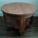 Petite table rénovée satin