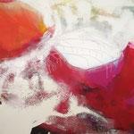eyes wide shut- Acryl mit Sand - 100 x 140 x 10