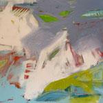 submarine - Acryl und Ölpastell - 100 x 160