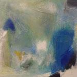 trial and error - Acryl mit Sand und Graphit - 120 x 160 x 4