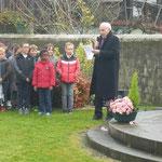Discours du 11 novembre par M le Maire...