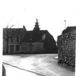 Rénovation du clocher.. et  chêne de la Libération