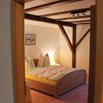 Blick ins zweite Schlafzimmer