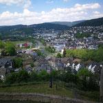 Blick auf Dillenburg