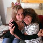 Meine Enkelin Lisa und Freundin und Vertraute