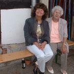 Meine Mutter und ich.