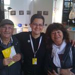 Karin, unsere Tochter- diplomierte Porzellan- Designerin  bei designers open in Leipzig
