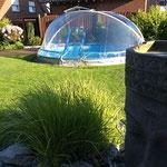 Rund-Pool 4,00 m x 1,20 m aufgebaut am 19.06.2012 in Hamm