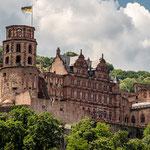Altes Schloss, Heidelberg, Juni 2019