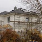 Solarpanels auf dem Dach