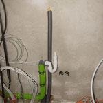 Waschmaschinen Anschluss und Ablauf