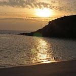 Couchant plage de Corsen