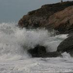 Les vagues de Corsen