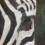 Kenya Zebra 2 - acrylique - enduits minéraux -