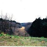 1994年谷戸奥駐車場からの風景