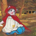 「森の中の赤ずきんちゃん」