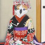 「お染」-歌舞伎 お染の七役より