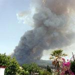 das Aridanetal brennt!