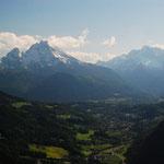 Blick vom Aussichtspunkt Lärchecker Wand. Foto: © stepro.jimdo.com