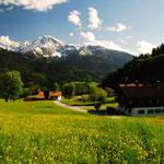Blick auf Göll und Kehlstein. Foto: © stepro.jimdo.com