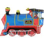 Lokomotive blau (Helium)
