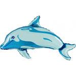 Delfin blau (Helium)