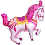 Zirkuspferd pink (Helium)
