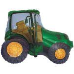 Traktor grün (Helium)