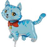 Katze blau (Helium)