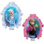 Frozen Spiegel, Elsa und Anna (ohne Helium)