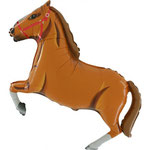 Pferd braun (Helium)