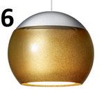 Chrom matt/Gold glänzend