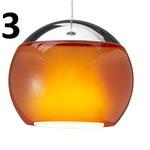 Chrom/Orange glänzend