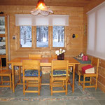Dining area as seen from the kitchen