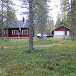 Cottage and garage/storage building