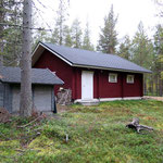 Firewood shed and garage/storage building