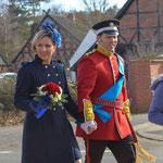 Kostüme des Karnevals-Prinzenpaars Jameln