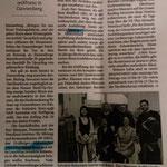 Presseartikel aus der Elbe Jeetzel Zeitung.