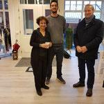 Eröffnung unseres Ladengeschäfts 2018 in der Marschtorstraße.