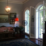 Living Room with floor to ceiling French Doors