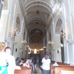 Interior of Catedral de San Juan Bautista